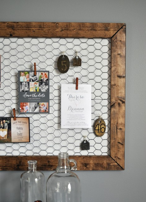 Rustic Cork Board Ideas