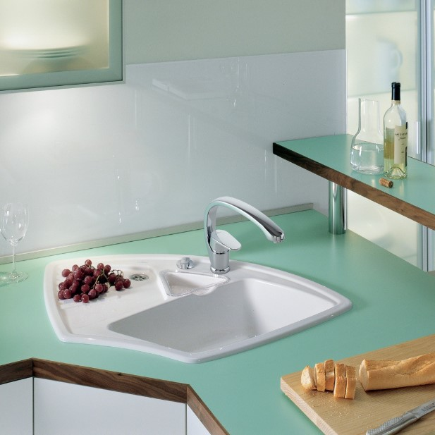 Shabby Chic Corner Sink