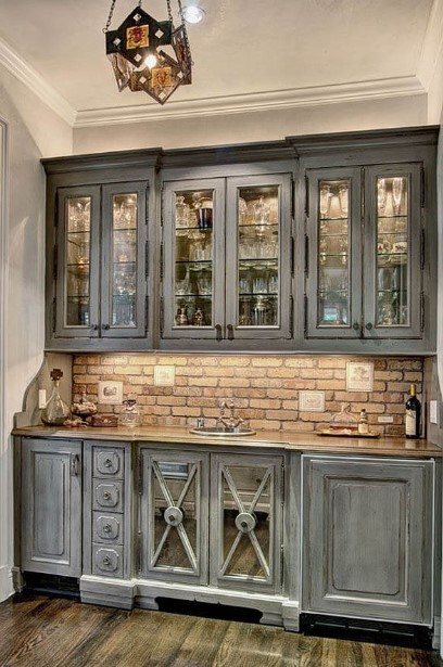 Shade of Gray Cabinets