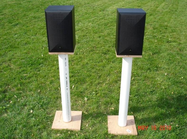 Slender Speaker Stand