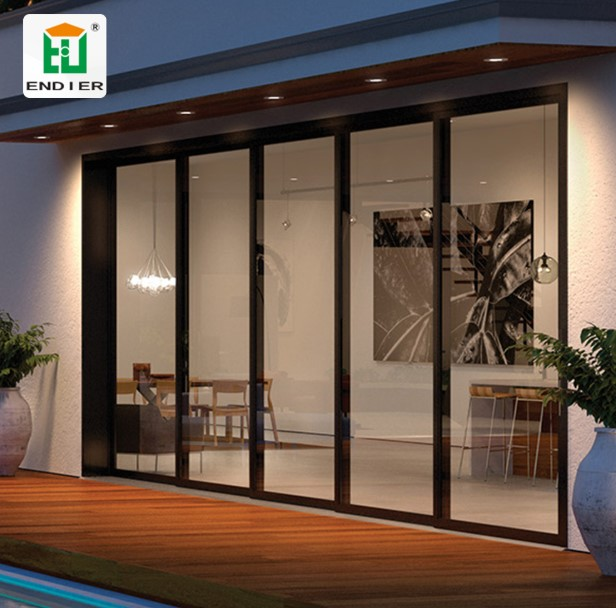 Sliding Glass Style Floor to ceilling