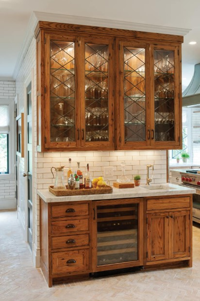 Small Rustic Kitchen Cabinet