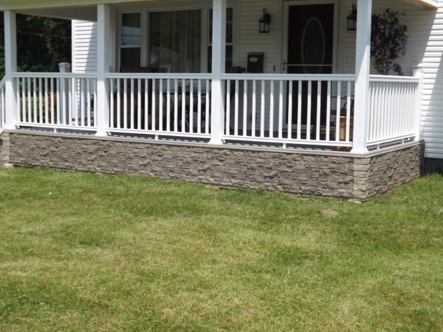 Stone Deck SkirtingIdeas