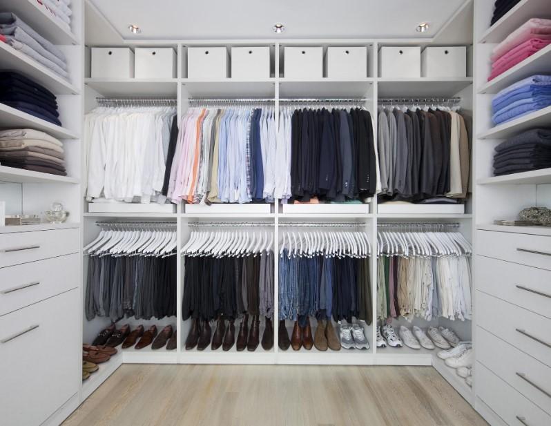 Stylist walk in closet