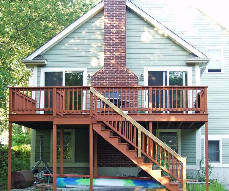 Tall Deck SkirtingIdeas