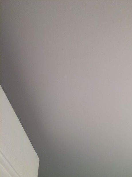 The Skim coat ceiling texture