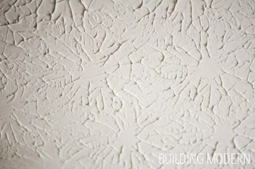 The Stucco swirl wall texture
