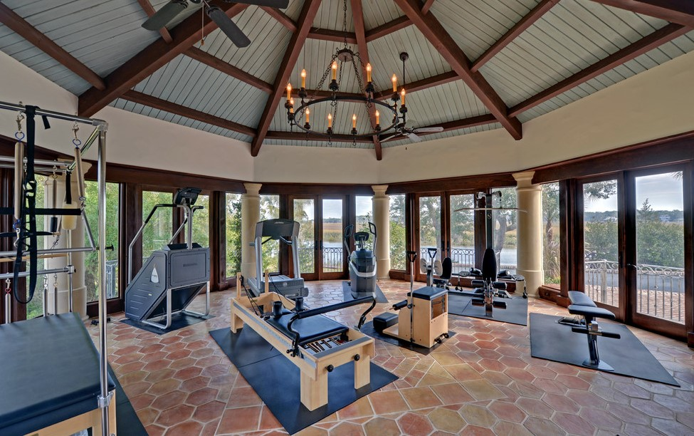 The Sunroom Gym for Exercising