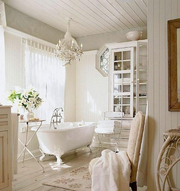 The feminine farmhouse bathroom ideas
