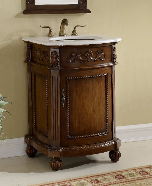 Victorian Rustic Bathroom Vanity