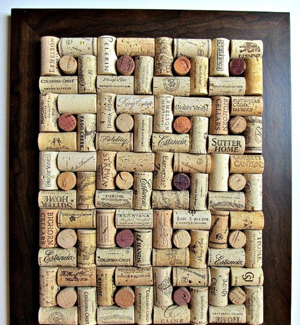 Wine Cork Board Ideas